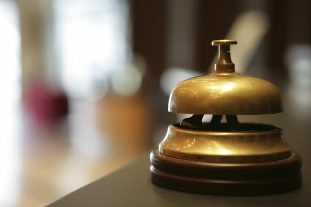 concierge bell at Security Company in London